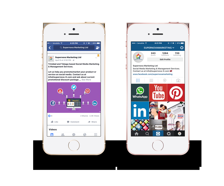 Supernova Marketing – Trinidad and Tobago Social Media Marketing
